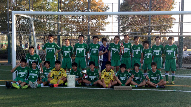 優勝:FRIENDLY Jrユース